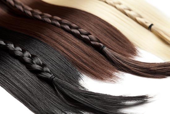 colores de las extensiones de cabello adhesivas